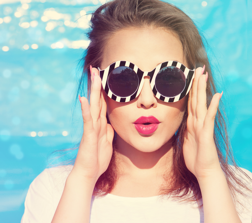 Sunglasses provide great UV protection in Hinsdale and anywhere else!